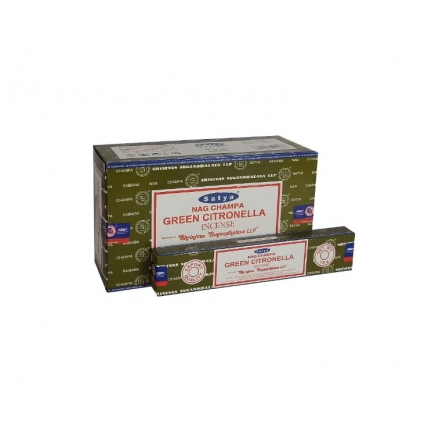 Satya Green Citonella Incense Sticks