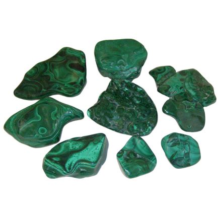 Malachite Polished Free Form