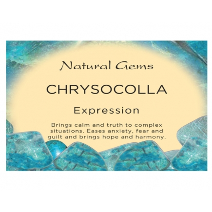 Chrysocolla Info Card