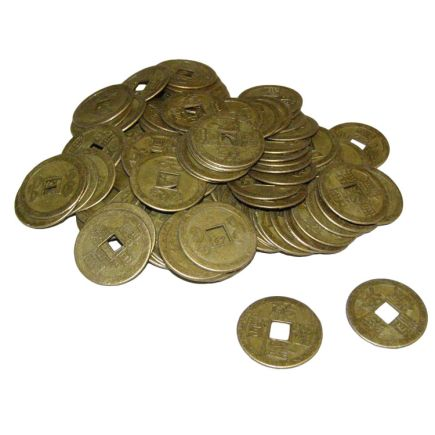 Chinese Coins - 24mm - Pack of 100 pcs