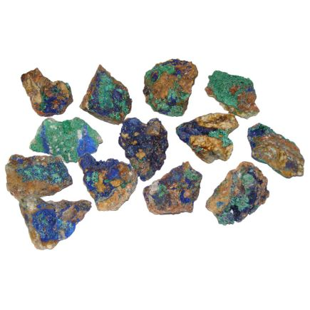 Malachite and Azurite Rough Specimen