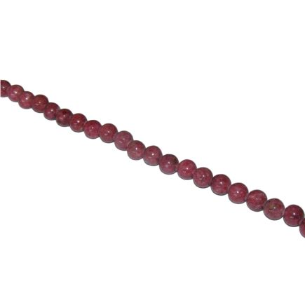 Rhodonite Dyed Beads