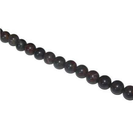 Chinese Bloodstone Beads