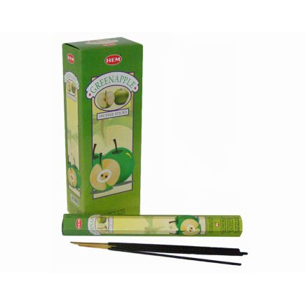 HEM Green Apple Incense Sticks