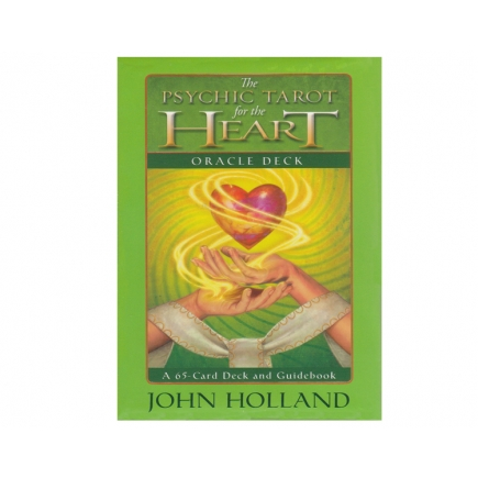 The Psychic Tarot of the Heart Oracle Deck - John Holland