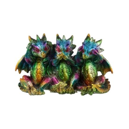 No Evil Rainbow Dragons