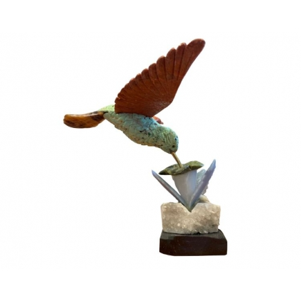 Humming Bird with Base