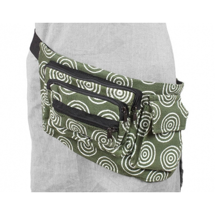 Hemp Circle Hip bag