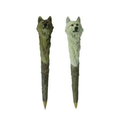 Wolf Novelty Pen - Pack of 12