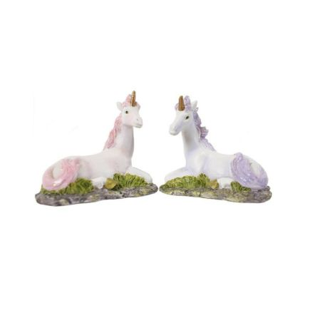 Small Unicorn Figurines Pack of 12