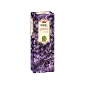 HEM Precious Lavender Hex Incense Sticks