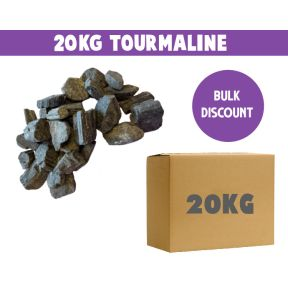 Black Tourmaline Rough 20KG