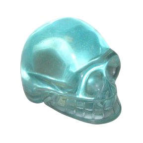 Blue Obsidian Skull - 50mm