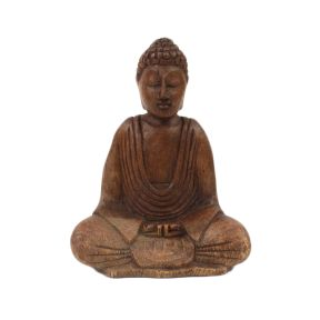 Medium Handcarved Buddha