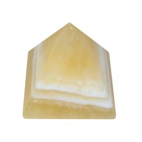 Orange Calcite Pyramid (35mm)