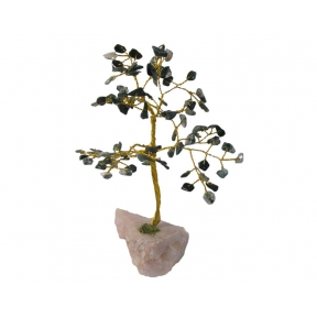 Green Moss Agate Gem Tree - 100 Chip
