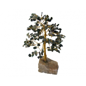 Green Moss Agate Gem Tree - 240 Chip