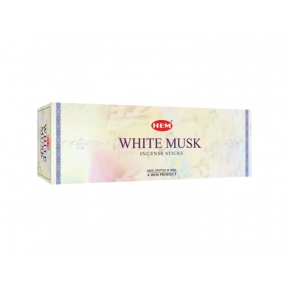 HEM White Musk Hex Sticks Incense Sticks