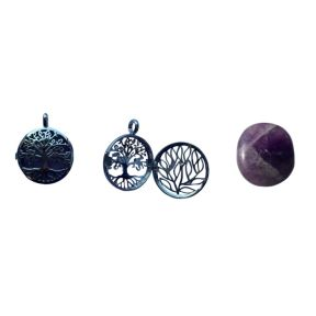 Amethyst Tree of Life Locket