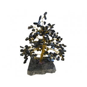 Black Agate & Onyx Gem Tree - 240 Chip
