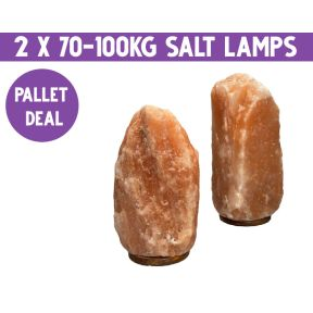 Pallet Deal -  70-100kg Salt Lamp - Pallet of 2