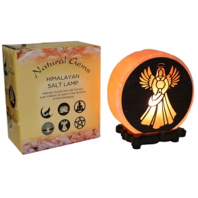 Angel Design Salt Lamp & Lead