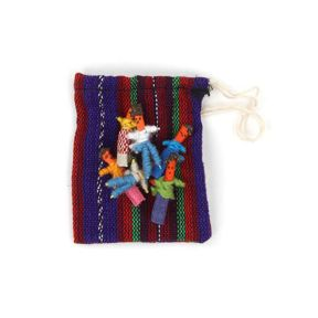 Worry Dolls in Bags - Pack of 12