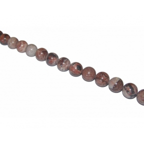 Red Picture Jasper Beads