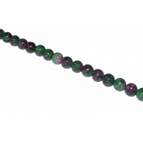 White Jade Dyed Zoisite Beads