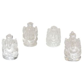 Clear Quartz Ganesh