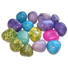 Bright Mix Large Tumblestone 250g