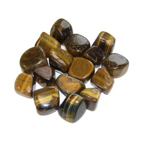 Gold Tigers Eye Tumblestone 250g