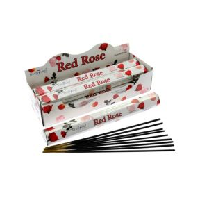 Stamford Red Rose Hex Sticks