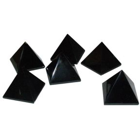 Black Obsidian Pyramid (35mm)