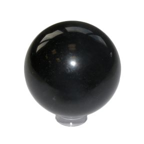 Black Obsidian Crystal Sphere