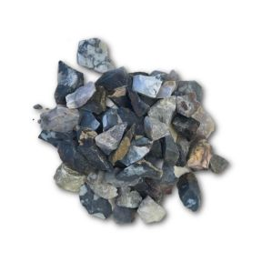 Macabas Blue Quartz Rough - 1KG