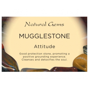 Natural Gems - Mugglestone Crystal Information Cards - Pack of 50