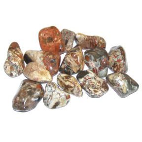 Light Brecciated Jasper Tumblestone