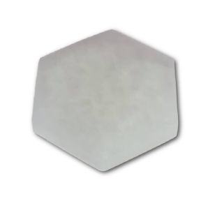7cm Selenite Hexagonal Charging Plate