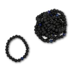 Lava & Lapis bracelet -  Pack of 10