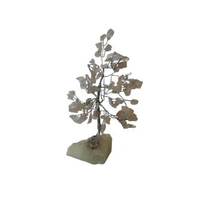 Rose Quartz Gem Tree - 100 Chip