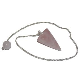 Rose Quartz Cone Pendulum