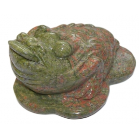 Unakite 3 Legged Toad