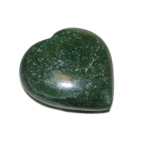 Green Aventurine Crystal Puff Heart