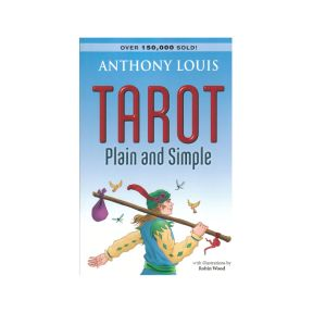 Tarot Plain and Simple By Anthony Louis - BOOK