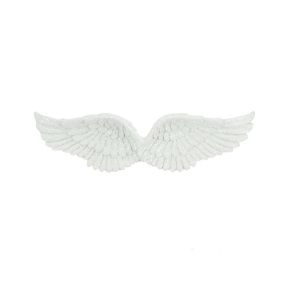 Hanging Glitter Angel Wings - Pack of 6