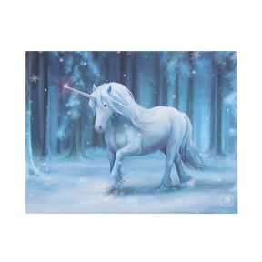 Anne Stokes Winter Wonderland Wall Plaque