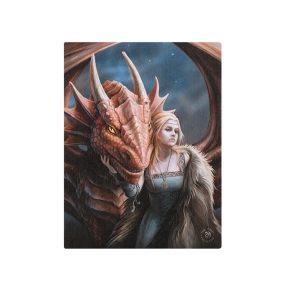 Anne Stokes Friend of Foe Wall Plaque