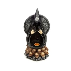 Black Magic Backflow Incense Burner