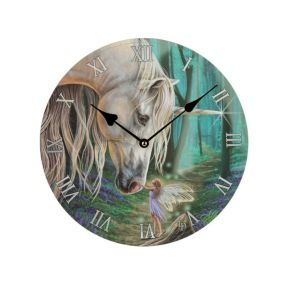Lisa Parker Unicorn and Fairy Whisper Clock